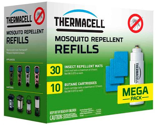 Расходные материалы thermacell. Запасные картриджи